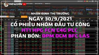 Nhận định thị trường - Cổ phiếu cần quan tâm ngày 30/9/2021