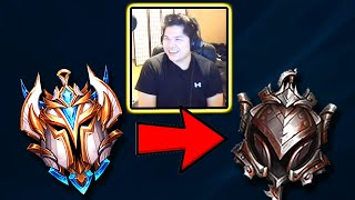 I Hired a Challenger Coach and Pretended to be an IRON WUKONG MAIN (SUPER FUNNY ENDING LOL!!)