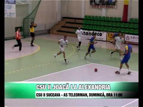 Sport   CSU II joaca la Alexandria