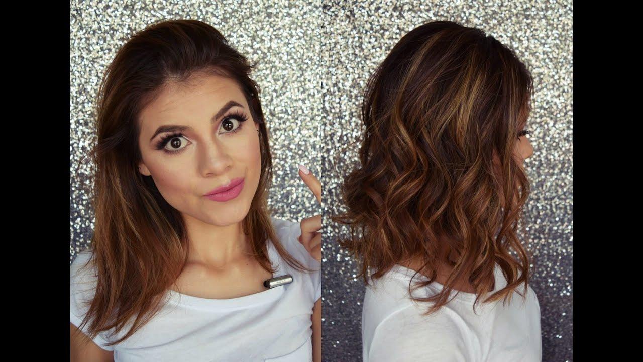 rizos para cabello corto con plancha youtube - Pelo Corto Rizado