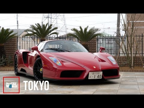 My First Time Driving An Enzo! [Japan's Insane Ferrari Collectors]