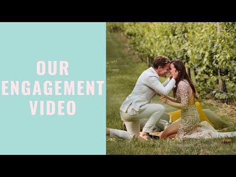 WE GOT ENGAGED! Laura & Dalton's Proposal Video