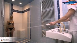 Душ Шарко - Sharko shower(Душ Шарко одновременно улучшает кровообращение, обмен веществ, снимает стресс, поможет при проблемах с..., 2015-04-23T11:12:37.000Z)