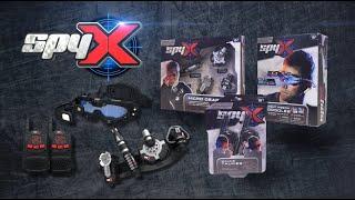 SpyX - Night Mission Goggles, Micro Gear Set, Walkie Talkies