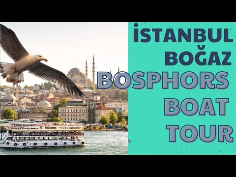 istanbul Bogaz turu  bosphorus boat tour  720p HD video 4-1