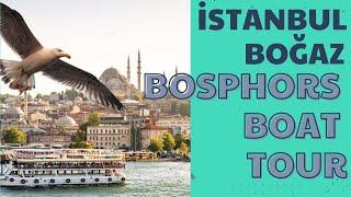 istanbul Bogaz turu  bosphorus boat tour  720p HD video 4-1