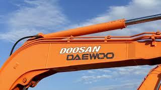 Doosan Daewoo Solar 55-V Plus Mini Excavator