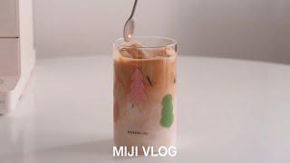 [VLOG] 일리 커피머신 Y3.3 언박싱. 계란 샌드…