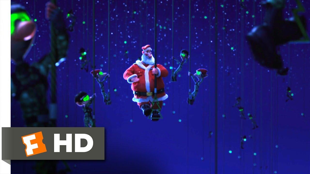 Arthur Christmas 1 10 Movie Clip The Elf Battalion 2011 Hd Youtube