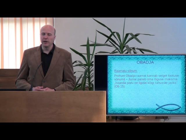 4. loeng – Obadja raamat