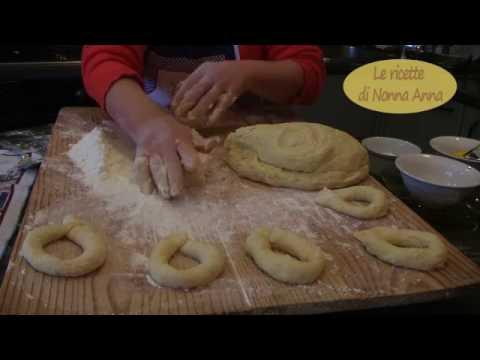 Le zeppole fritte (graffe) napoletane dalle ricette di Nonna Anna semplici, economiche, gustose.