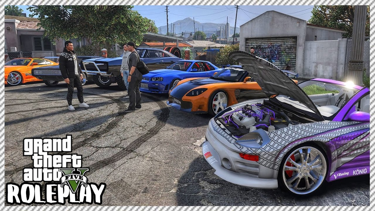 GTA 5 Roleplay - 'HUGE' Fast & Furious Movie Car Meet | RedlineRP #310