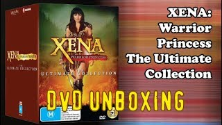Xena: Warrior Princess - The Ultimate Collection - DVD unboxing