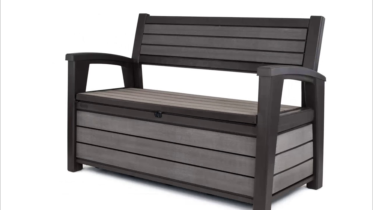 hudson storage bench 360 view
