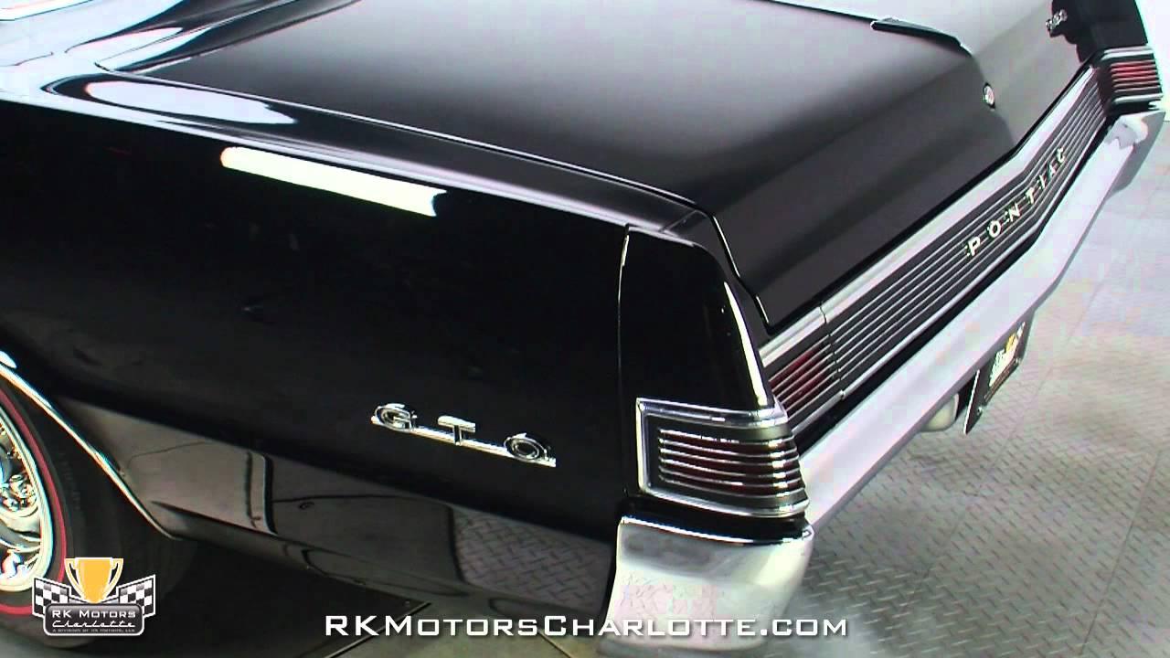 132668 1965 Pontiac Gto Youtube 1964 Wiring Harness Radio