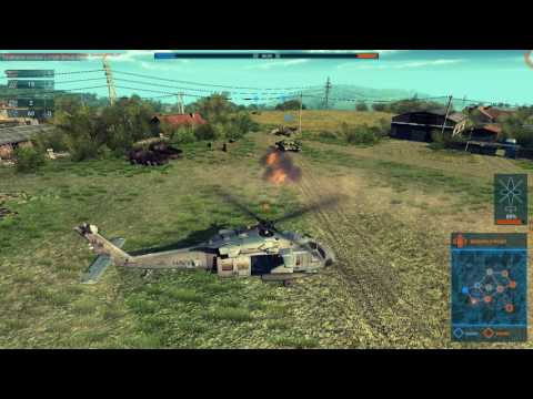 Heliborne. American Helicopters Game Play