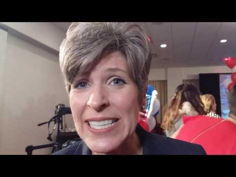 """Joni Ernst, GOP Senator Iowa: """"It"""