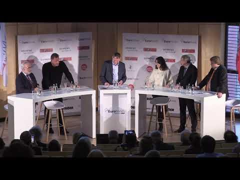 """EuroMinds 01.02.2020, 3. Panel """"Die Medizin Von Morgen"""""""
