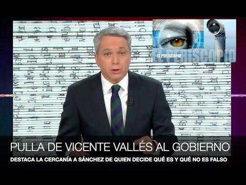 ¡PULLA DE VICENTE VALLÉS AL GOBIERNO!