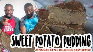 Sweet Potato Pudding MADE EASY: JAMAICAN STYLE!