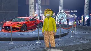 JUGANDO EN EL CASINO DE GTA V ONLINE - The Diamond Casino & Resort GTA 5 Online