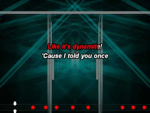 Taio Cruz - Dynamite (Karaoke (Instrumental + Lyrics))(Butts)