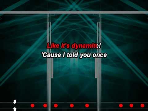 Taio Cruz - Dynamite (Karaoke (Instrumental + Lyrics))(Butts)