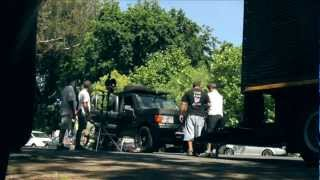 ITV4 2013 Idents: Tour De Garage - Behind The Scenes