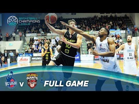 Lulea (SWE) v Telenet Giants Antwerp (BEL) - Live 🔴  - Basketball Champions League 17-18