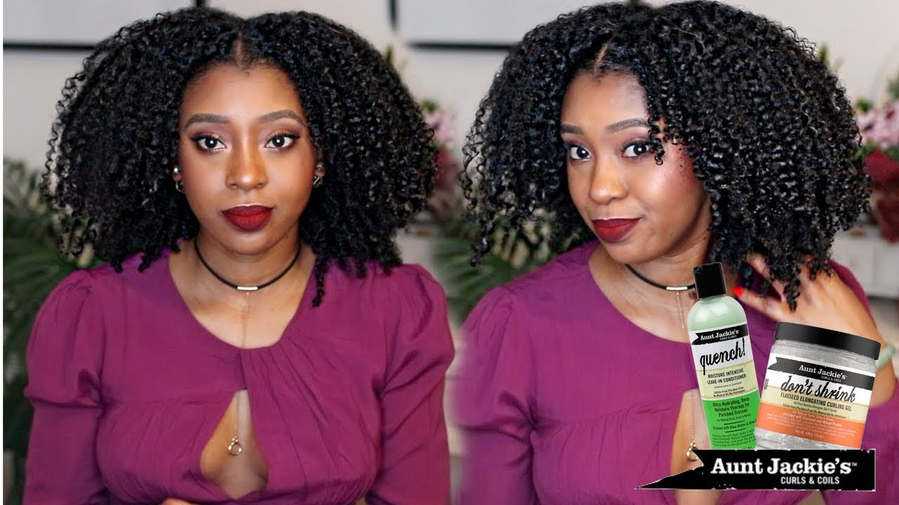 Updated Wash N Go Aunt Jackie S Don T Shrink Gel Is The Truth But Your Hair Is Still Shrinking