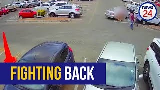 WATCH: Would-be robber shot dead outside Limpopo mall