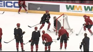 The Arizona Coyotes are hitting the ice