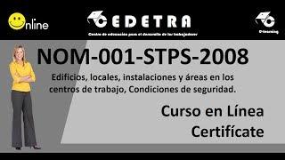 NOM -001-STPS-2008 / INTERPRETACIÓN / CURSO EN LÍNEA