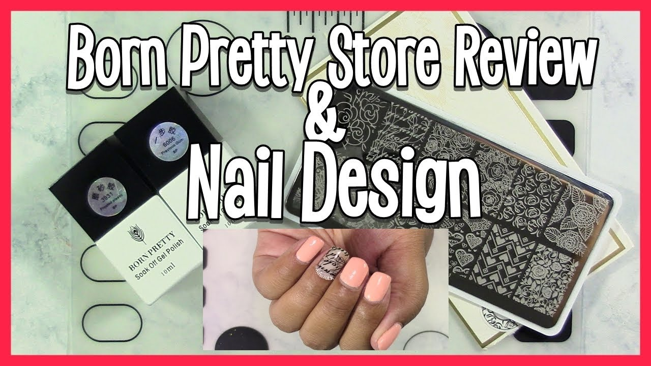 Born Pretty Store Review 16 W Nail Design Youtube