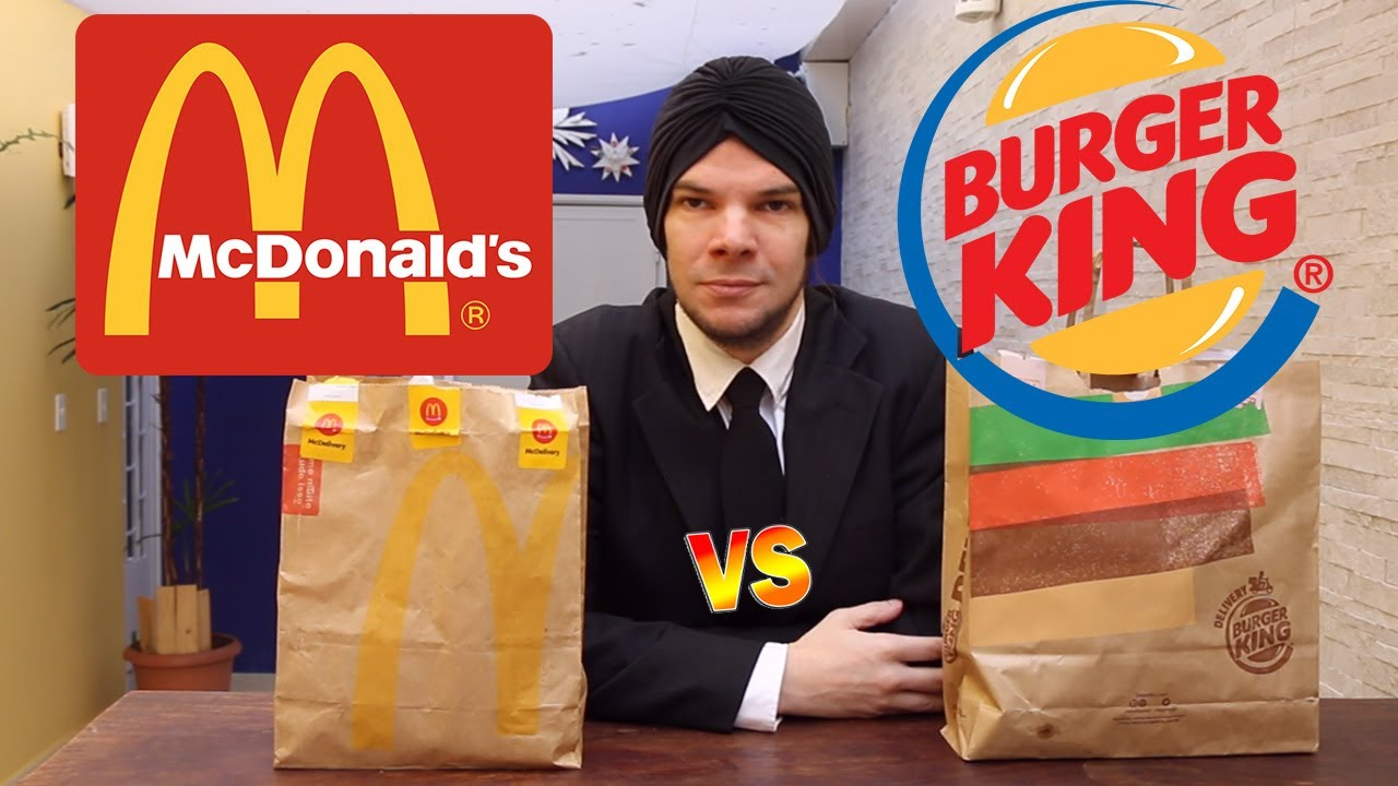Download McDonald's VS Burger King. QUEM É MELHOR? BIG MAC OU WHOPPER?