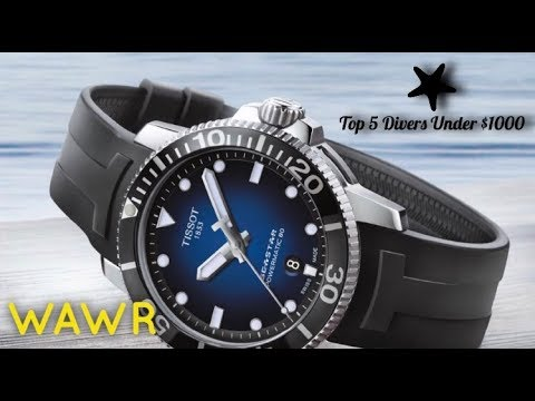 5f0a6d544d3 TOP 5 Dive Watches Under  1000 ( Swiss Made ) - YouTube