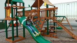 Gorilla Playsets Pioneer Peak Review From Arizona Playsets