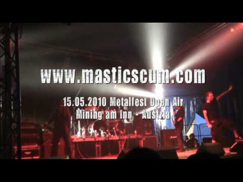 Mastic Scum - Live at Metalfest Austria 2010