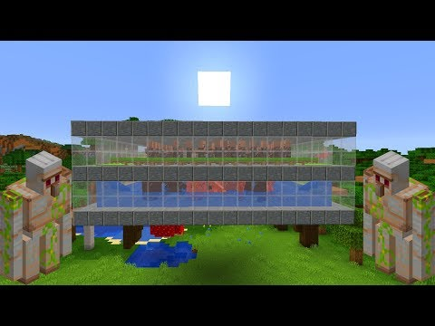 Prosta Farma Zelaza W Minecraft 1 14 400 H Poradnik