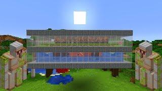 Prosta Farma Żelaza w Minecraft 1.14! [400/h] - Poradnik!