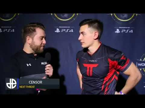 Censor Interview at MLG CWL Dallas Open 2017