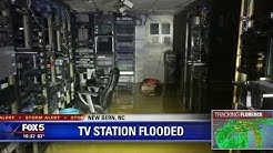 TV station flooded