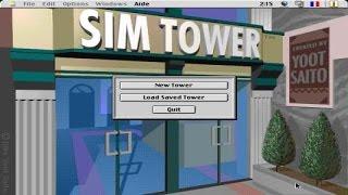 SimTower gameplay (PC Game, 1994)