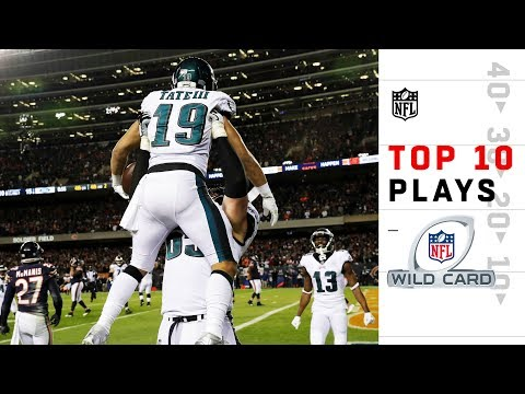 The Man Cave - Top 10 Plays from Wild Card Weekend | NFL Playoffs