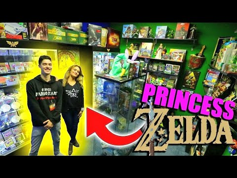 One of the WORLDS LARGEST ZELDA COLLECTION! ft the voice of Zelda!