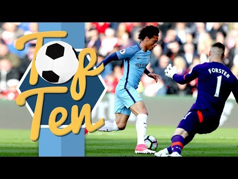 TOP 10 MAN CITY PREMIER LEAGUE GOALS 2016/17