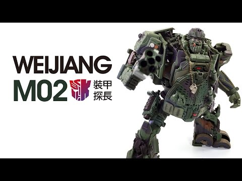 KL變形金剛玩具分享163 威將 M02 裝甲探長