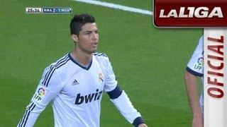 Gol de Cristiano Ronaldo (2-1) en el Real Madrid - Málaga CF - HD