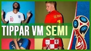 Tippar VM semifinalerna