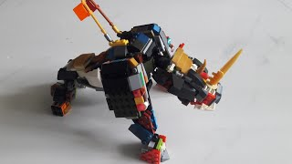lego ninjago season 13 zane's mino creature